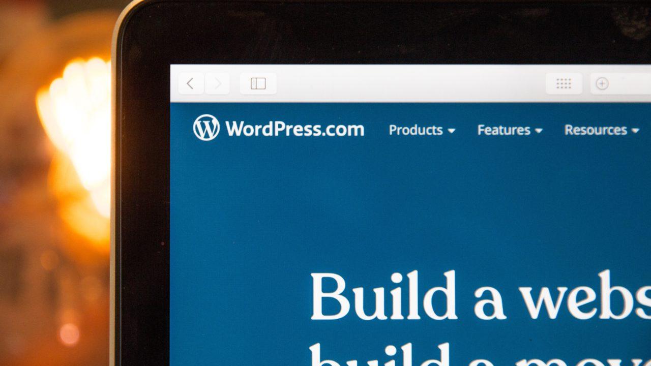 悩んでいるならWordPressで始めよう