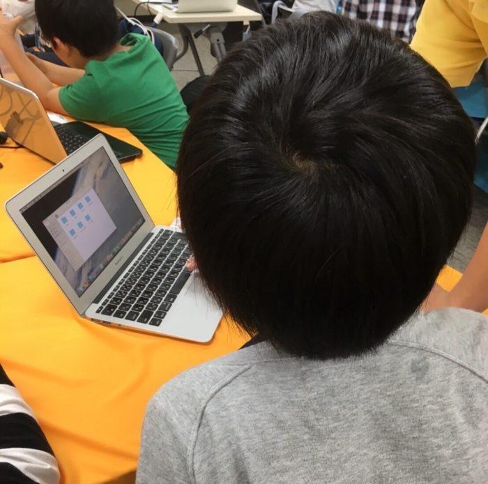 Tech Kids受講風景